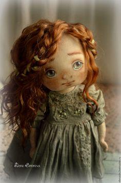 Купить Есения - текстильная кукла, интерьер, интерьерная кукла, коллекционная кукла, кукла ручной работы