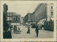 Italia, Roma, 1908  Vintage silver print. Photo par Mme Jeanne Bouvas.    Tirage…