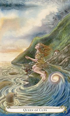 Knowing who you are is 2/3 of the battle. The last third is stepping into your role. I am a Queen of Cups :)
