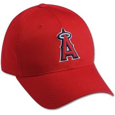 MLB Los Angeles Angels Adjustable Baseball Cap by Outdoor Cap. $9.35. Features 3D logo, cotton twill construction, and adjustable velcro  closure