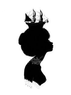 nautical silhouette - Google Search