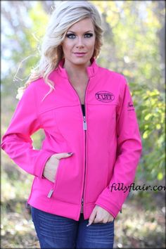 Cowgirl Tuff jacket in PINK