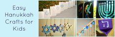 Easy Hanukkah Crafts for Kids