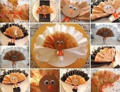DIY Eco-Chic Coffee Filter Turkeys for Thanksgiving . Free tutorial with pictures on how to make a model or sculpture in under 60 minutes by decorating and papercrafting with paper, marker pen, and glue stick. Inspired by thanksgiving and turkeys. Fall Arts And Crafts, Crafts For Kids To Make, Craft Activities For Kids, Holiday Crafts, Holiday Fun, Kids Crafts, Craft Ideas, Thanksgiving Art Projects, Kids Thanksgiving
