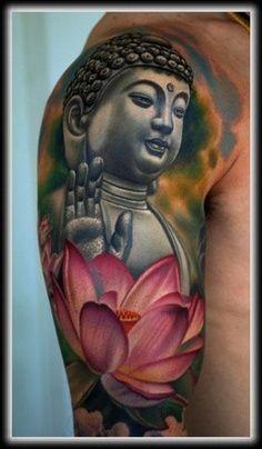 Buddha tattoo Design Idea - Tattoo Design Ideas