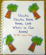 lots of class book ideas for PreK - 1