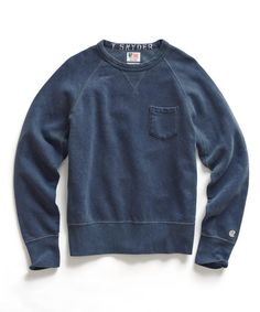 //\\ Mast Blue Pocket Sweatshirt