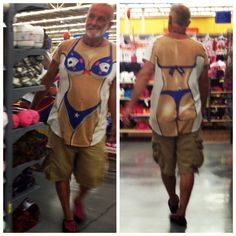 Here is the reason some people hate shopping at Wal-Mart, let's take a look at some of the weird and most ridiculous people of Walmart. - Page 35 of 45 People Of Walmart, Meanwhile In Walmart, Only At Walmart, Crazy Funny Memes, Wtf Funny, Funny Fails, Funny Drunk, Funny Sexy, Funny Walmart Pictures