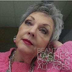 Beautiful lashes come in all ages! Lashwithtara.com