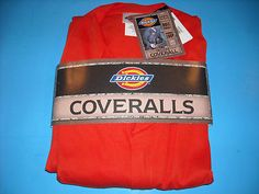 NEW with Tags XL Dickies Orange Coveralls - $24.95