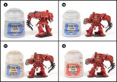 In part two of this series of exclusive Tale of Painters' tutorials, I tackle painting the saviours of Mankind, the legendary Blood Ang...
