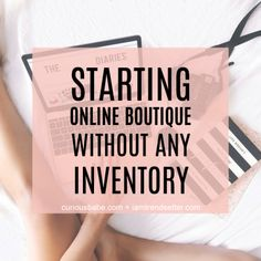 It's TOTALLY possible to start an Online Boutique & store without holding or investing in inventory. And I know this because I've been successfully doing it for the past 4 years. Here's how you can start an Online Boutique without any INVENTORY Boutique Names, Kids Boutique, Boutique Stores, Small Boutique Ideas, Boho Boutique, Boutique Interior, Fashion Boutique, Starting A Business, Business Planning