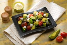 Avocado, Asparagus, Artichoke Hearts & Cherry Tomato Salad | Avocados from Mexico