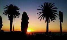 #Sundown in #CampsBay #CapeTown #SouthAfrica