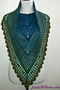 [Free Pattern] Gorgeous Crochet Spring-Friendly Shawl