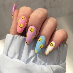 55 special summer nail designs for exceptional look best nails for spring 2019 14 - Nail Art Ideas - Emoji Nails, Aycrlic Nails, Swag Nails, Coffin Nails, Stiletto Nails, Pointed Nails, Manicures, Summer Acrylic Nails, Best Acrylic Nails