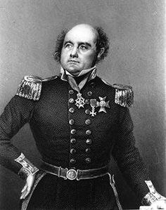 Rear-Admiral Sir John Franklin KCH FRGS RN (16 April 1786 – 11 June 1847) British Royal Navy officer and Arctic explorer : Bald Men of Style