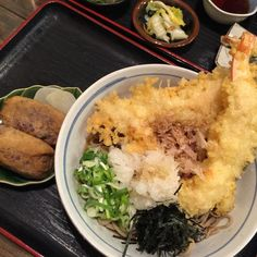 Tempura and Soba Noodles