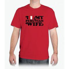 Peruvian Wife T - Mens T-Shirt