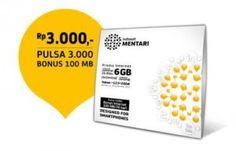 Mentari super internet adalah kartu perdana Mentari terbaru dengan harga Rp.3000  termasuk pulsa 3.000 dan BONUS Internet 100 MB untuk 30 hari. Dengan isi ulang cuma 25 K saja kamu juga akan mendapatkan kuota internet sampai 6 GB per bulan. Menurut Indosat kartu Mentari ini akan memenuhi kebutuhan data penggunanya, karena dengan mengaktifkan Mentari super