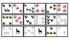 Domino stenen herfst (2) Groep 1/2