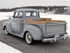 Chevrolet pickup I LOVE THIS TRUCK JUST LIKE THE ONE DAD USED TO HAVE