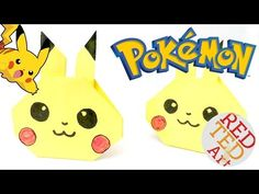 Wonderful and super easy Pikachu Craft - this is a great Pokemon DIY for Pokemon Go lovers. We adore this darling and easy Origami Pikachu. Make one today.