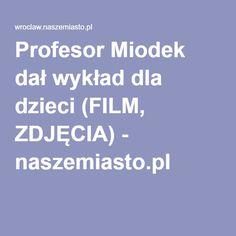 Profesor Miodek dał wykład dla dzieci (FILM, ZDJĘCIA) - naszemiasto.pl