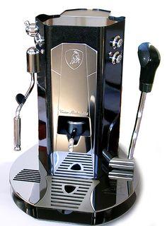 Tonino Lamborghini coffee machine.