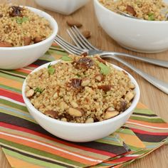Couscous with Dates and Almonds