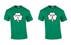 Drunk 1 Drunk 2 Shirt Set by RightSideOutShirts on Etsy