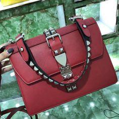 271726f983fa ... 50% off prada elektra leather shoulder bag 1ba179 red 2018 ed846 8b1e9