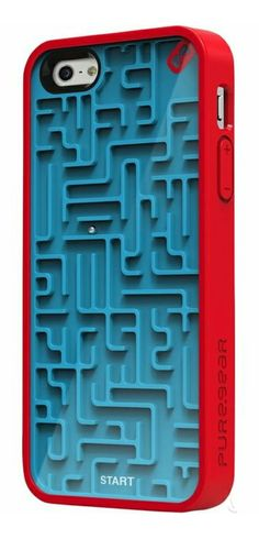 Puzzle maze iPhone case! Want! #product_design