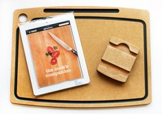 Chef Sleeve's iPad kitchen accessories for cooks without books.