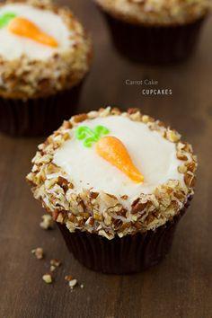 Paula Deens The Best Ever Carrot Cake Cupcakes Recipe. I ...