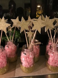 Twinkle twinkle little star centerpieces