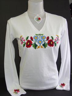 Embroidery, Sweatshirts, Long Sleeve, Projects, Sleeves, Sweaters, Ideas, Design, Women
