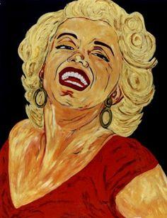 15-Marilyn Monroe . Pintura al óleo.100 x 81 cm  http://www.saatchionline.com/art-collection/Painting-Mixed-Media/Expresiones-de-CARMEN-LUNA/71968/25377/view