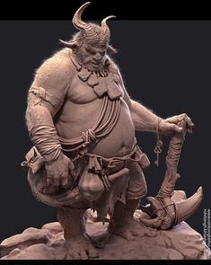 Orc Warrior by Rohit Singh | Creatures | 3D | CGSociety