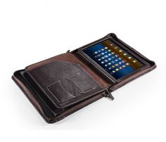 Samsung Galaxy Note 10.1 2014 Edition Portfolio Case with Notepad | zsxiaozhi - Bags & Purses on ArtFire