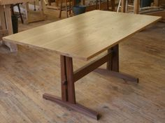 Woodworking Course - develop the woodworking skills to build a trestle table