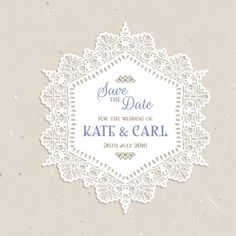 Save the date vintage grunge effect background Free Vector