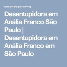 Desentupidora em Anália Franco São Paulo   Desentupidora em Anália Franco em São Paulo