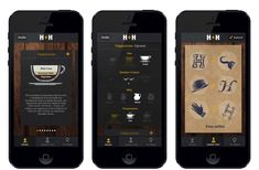 coffee app design - Google Search App Design, Snacks, Coffee, Google Search, Kaffee, Appetizers, Cup Of Coffee, Application Design, Treats