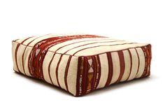 Bohemian pillow Berber Ottoman Moroccan by Beniouraincarpets
