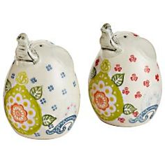 Pier 1 Imports - Elephant Salt & Pepper Shakers - Bought these today and LOVE them! :)  $8.98