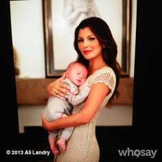 We love this pic of @Ali Landry holding her precious boy. Thanks for helping @Baby Buggy     help a mom in need.