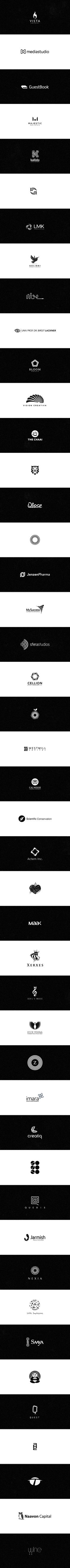 Logos 2010-2012 by almosh82 , via Behance