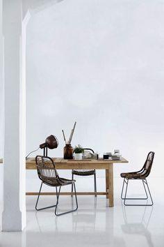 Beautiful danish retro chairs by House Doctor