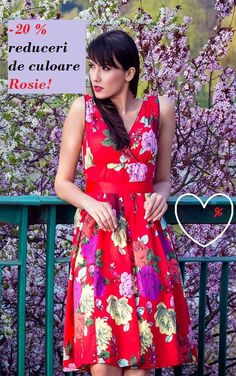 Rochii inflorate La Femme | Outlet online